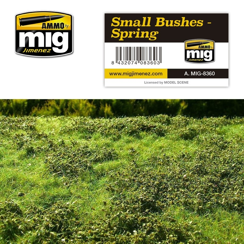 Ammo by Mig Jimenez Diorama Series - Small Bushes - Spring - A.MIG-8360