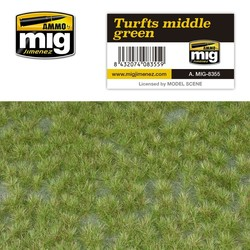 Turfs Middle Green - A.MIG-8355