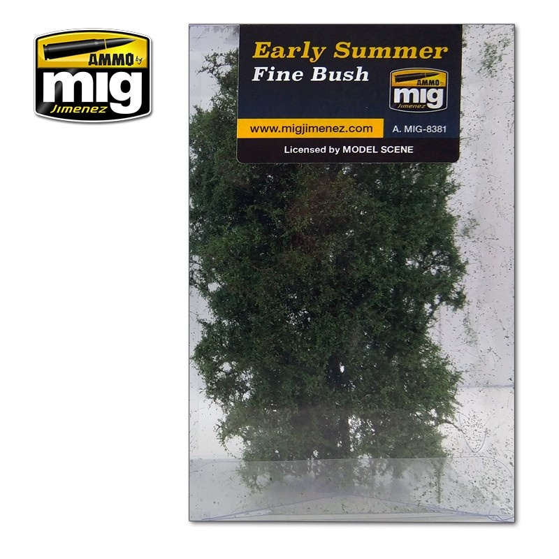 Ammo by Mig Jimenez Diorama Series - Fine Bush - Early Summer - A.MIG-8381