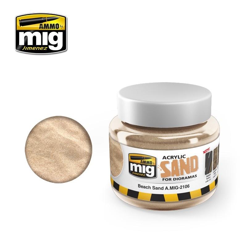 Ammo by Mig Jimenez Diorama Series - Sand Ground - 250ml - A.MIG-2106