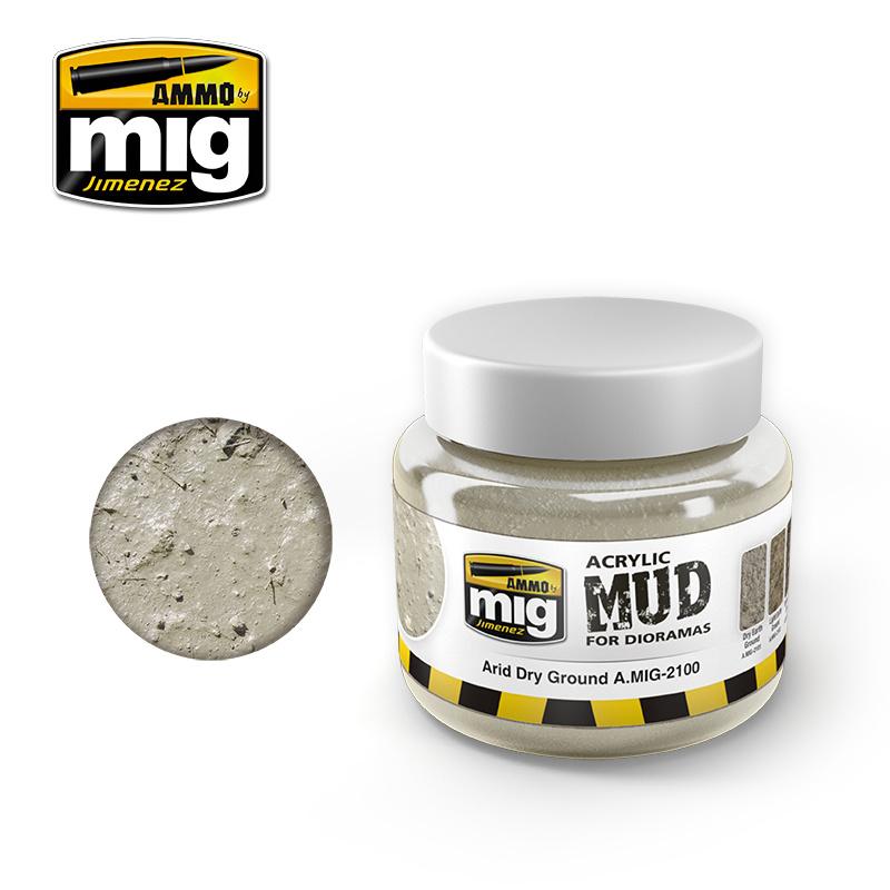 Ammo by Mig Jimenez Diorama Series - Arid Dry Ground - 250ml - A.MIG-2100