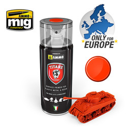 Titans Hobby - Royal Red Matt Primer  - 400ml - TTH105