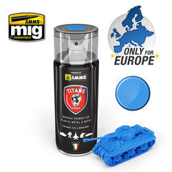 Titans Hobby - Space Blue Matt Primer - 400ml - TTH103