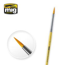 Brushes - 4 Syntetic Round Brush - A.MIG-8615