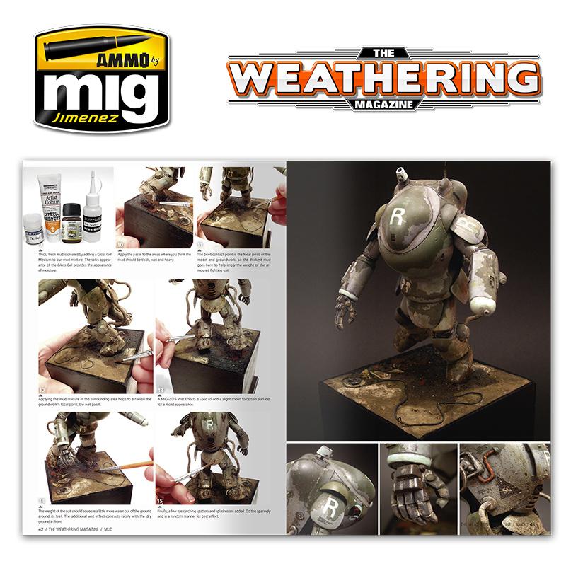 Ammo by Mig Jimenez The Weathering Magazine Issue 5. Mud  - English - Ammo by Mig Jimenez - A.MIG-4504