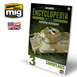 Encyclopedia Of Armour Modelling Techniques Vol. 3 - Camouflage English - A.MIG-6152