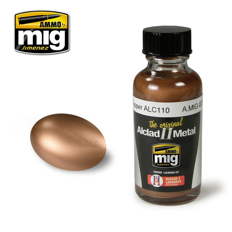 Alclad by Ammo - Copper Alc110 - 30ml - A.MIG-8207