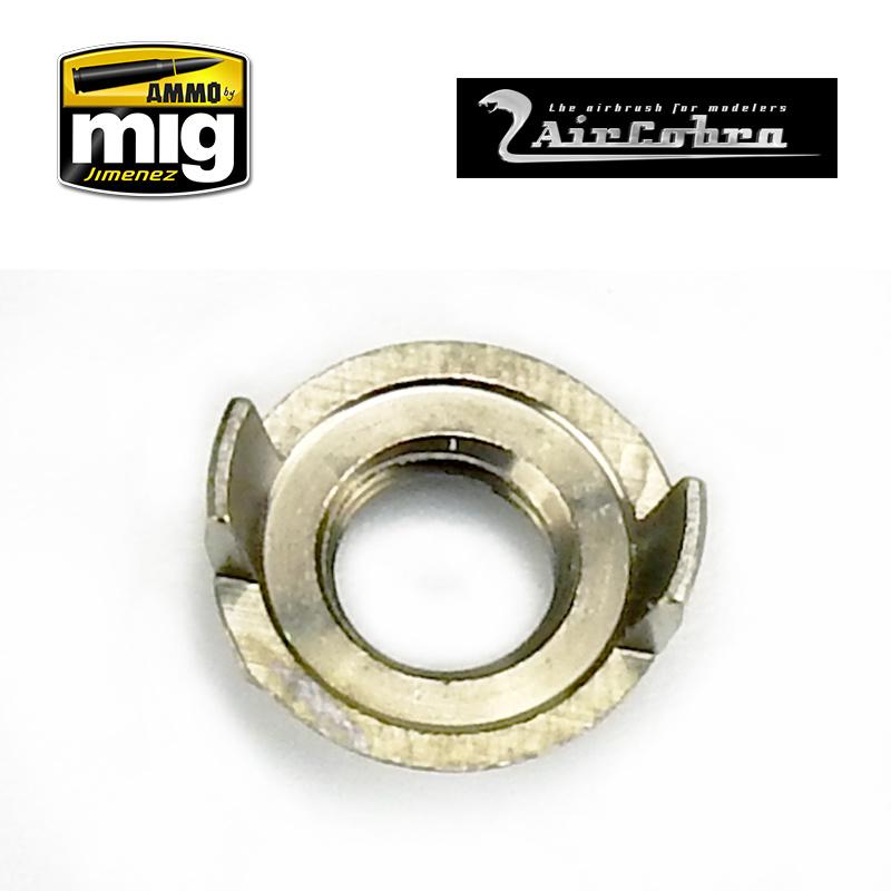 Ammo by Mig Jimenez Nozzle Cap Guard (Outer Aircap Nozzle Guard Reversible) - A.MIG-8629