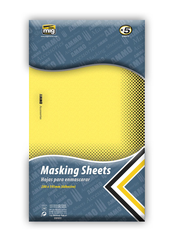 Ammo by Mig Jimenez Masking Sheets - A.MIG-8043