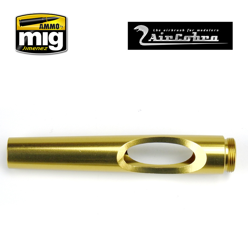 Ammo by Mig Jimenez Trigger Stop Set Handle, Yellow Gold - A.MIG-8649