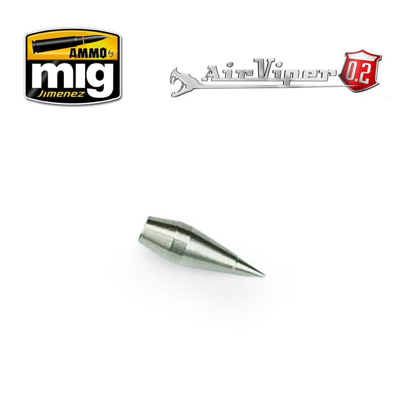 Ammo by Mig Jimenez 0.2 Nozzle Tip (Fluid Tip) - A.MIG-8666
