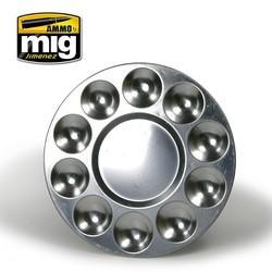 Aluminium Pallet (10 Wells) - A.MIG-8009