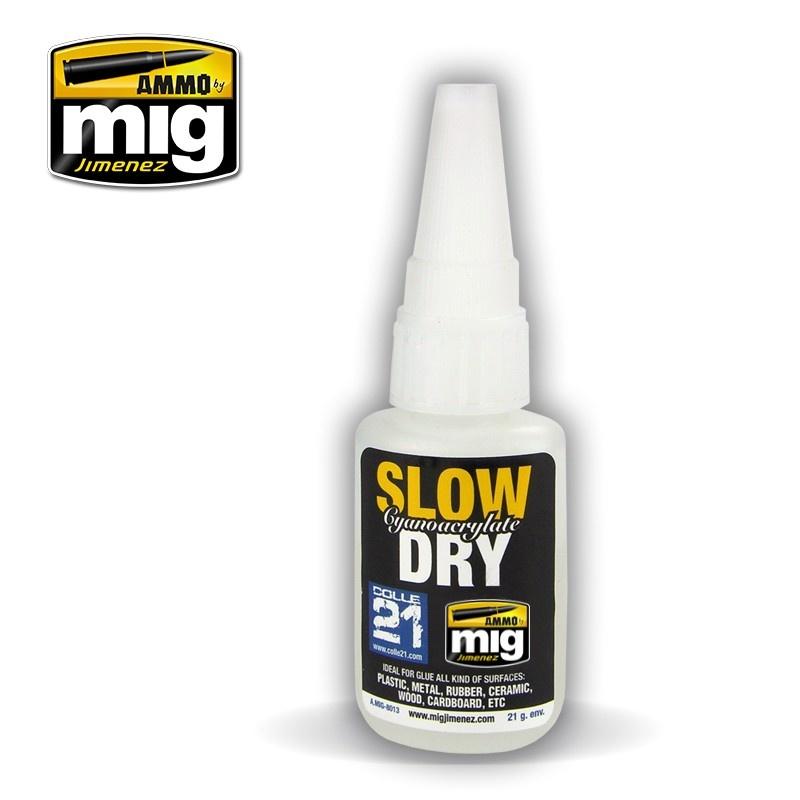 Ammo by Mig Jimenez Slow Dry Cyanoacrylate - A.MIG-8013