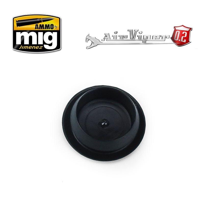 Ammo by Mig Jimenez Airviper Pvc Color Cup Lid (Small Cup) - A.MIG-8670
