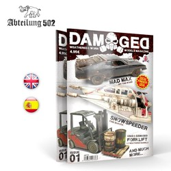 Damaged, Worn And Weathered Models Magazine - 01 (English)