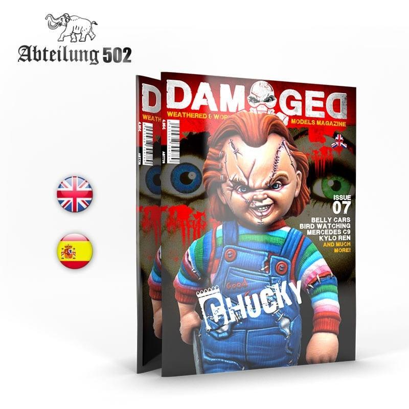 Damaged Magazine Damaged, Worn And Weathered Models Magazine - 07 (English)
