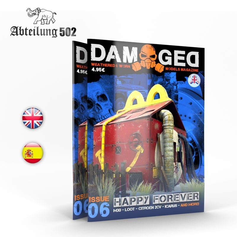 Damaged Magazine Damaged, Worn And Weathered Models Magazine - 06 (English)