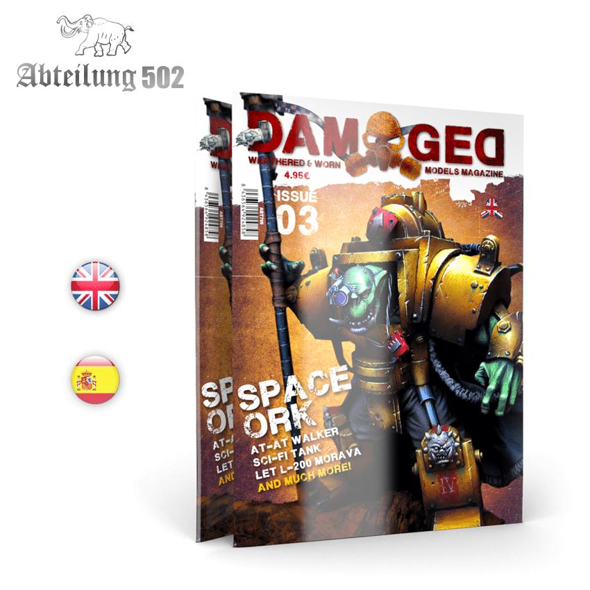Damaged Magazine Damaged, Worn And Weathered Models Magazine - 03 (English)