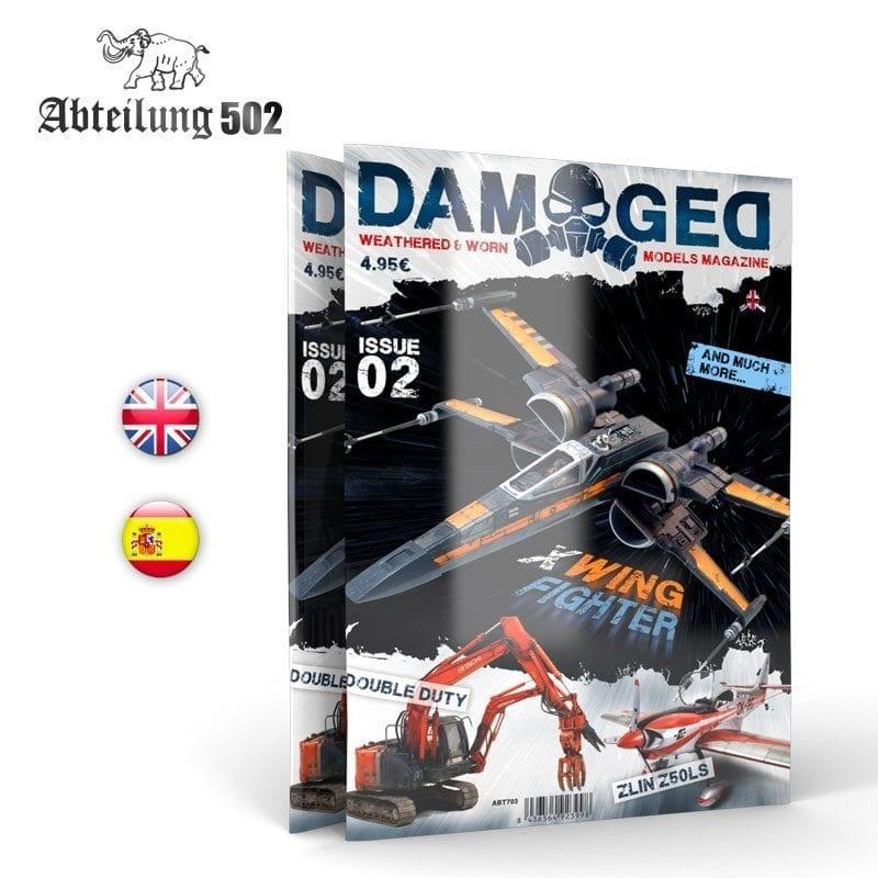 Damaged Magazine Damaged, Worn And Weathered Models Magazine - 02 (English)