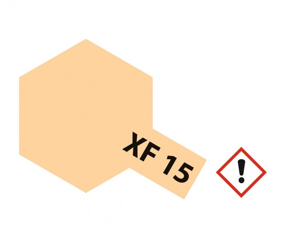 Tamiya Xf-15FlatFlesh - 23ml - Tamiya - TAM81315