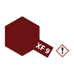 Xf-9HullRed - 23ml - Tamiya - TAM81309
