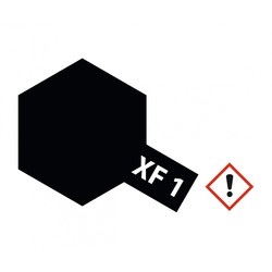 Xf-1 Flat Black - 23ml - Tamiya - TAM81301