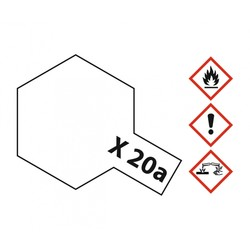 Acryl Thinner X-20A - 46ml - Tamiya - TAM81030