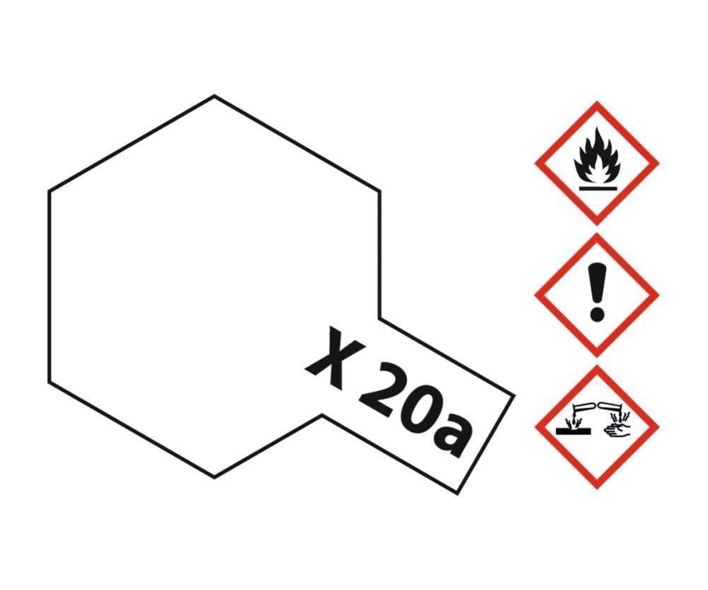 Tamiya Acryl Thinner X-20A (46ml) - 23ml - Tamiya - TAM81030