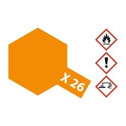 X-26ClearOrange - 23ml - Tamiya - TAM81026