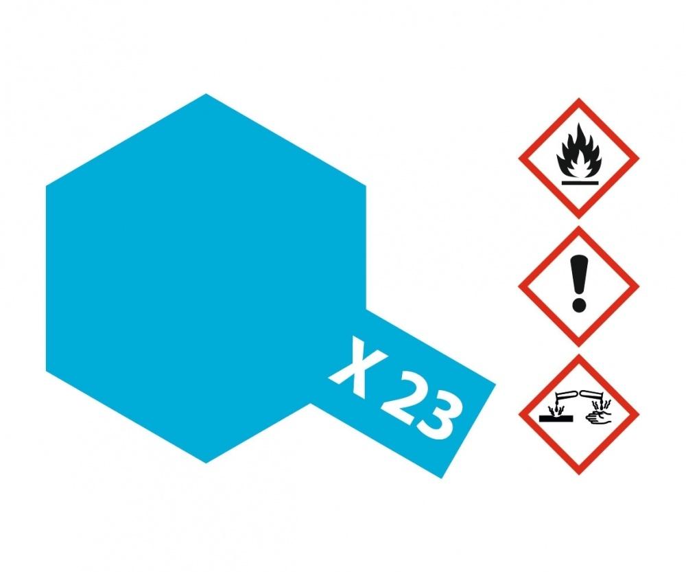 Tamiya X-23ClearBlue - 23ml - Tamiya - TAM81023