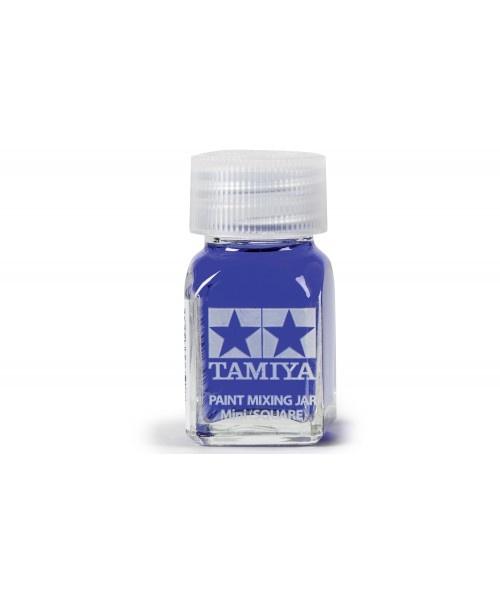 Tamiya Spare Bottle Mini (Square 10ml) - 23ml - Tamiya - TAM81043