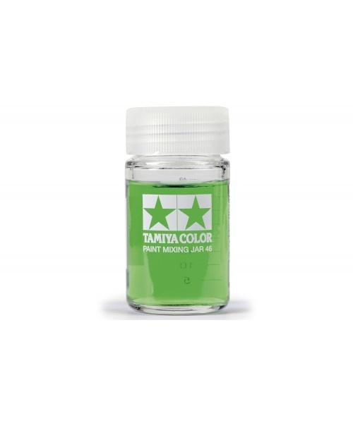 Tamiya Paint Mixing Jar (46ml) - 23ml - Tamiya - TAM81042