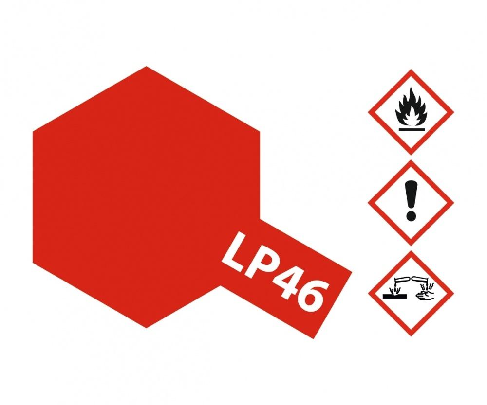 Tamiya Lacquer Paint LPp-46 Pure Metallic Red - 10ml - Tamiya - TAM82146