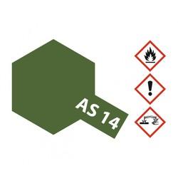 As-14 Olive Green (Usaf) - 100ml - Tamiya - TAM86514