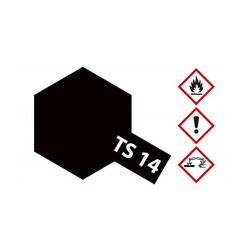 Ts-14 Black - 100ml - Tamiya - TAM85014