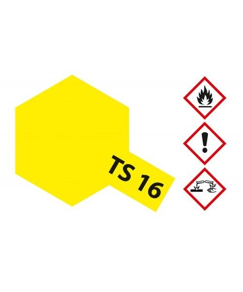 Tamiya Ts-16 Yellow - 100ml - Tamiya - TAM85016
