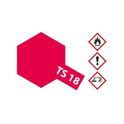 Ts-18 Metallic Red - 100ml - Tamiya - TAM85018