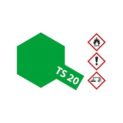 Ts-20 Metallic Green - 100ml - Tamiya - TAM85020