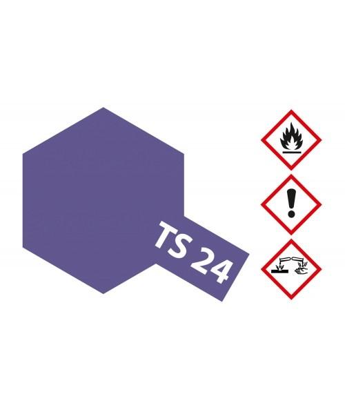 Tamiya Ts-24 Purple - 100ml - Tamiya - TAM85024