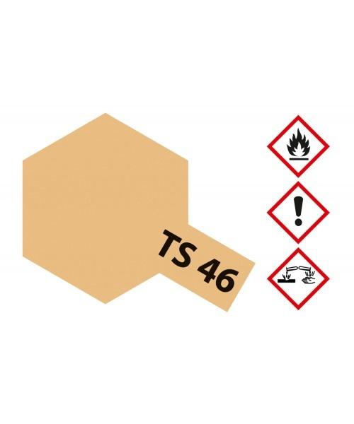 Tamiya Ts-46 Us Light Sand Desert Storm - 100ml - Tamiya - TAM85046