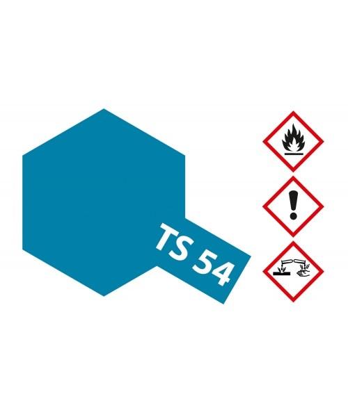 Tamiya Ts-54 Light Metallic Blue - 100ml - Tamiya - TAM85054