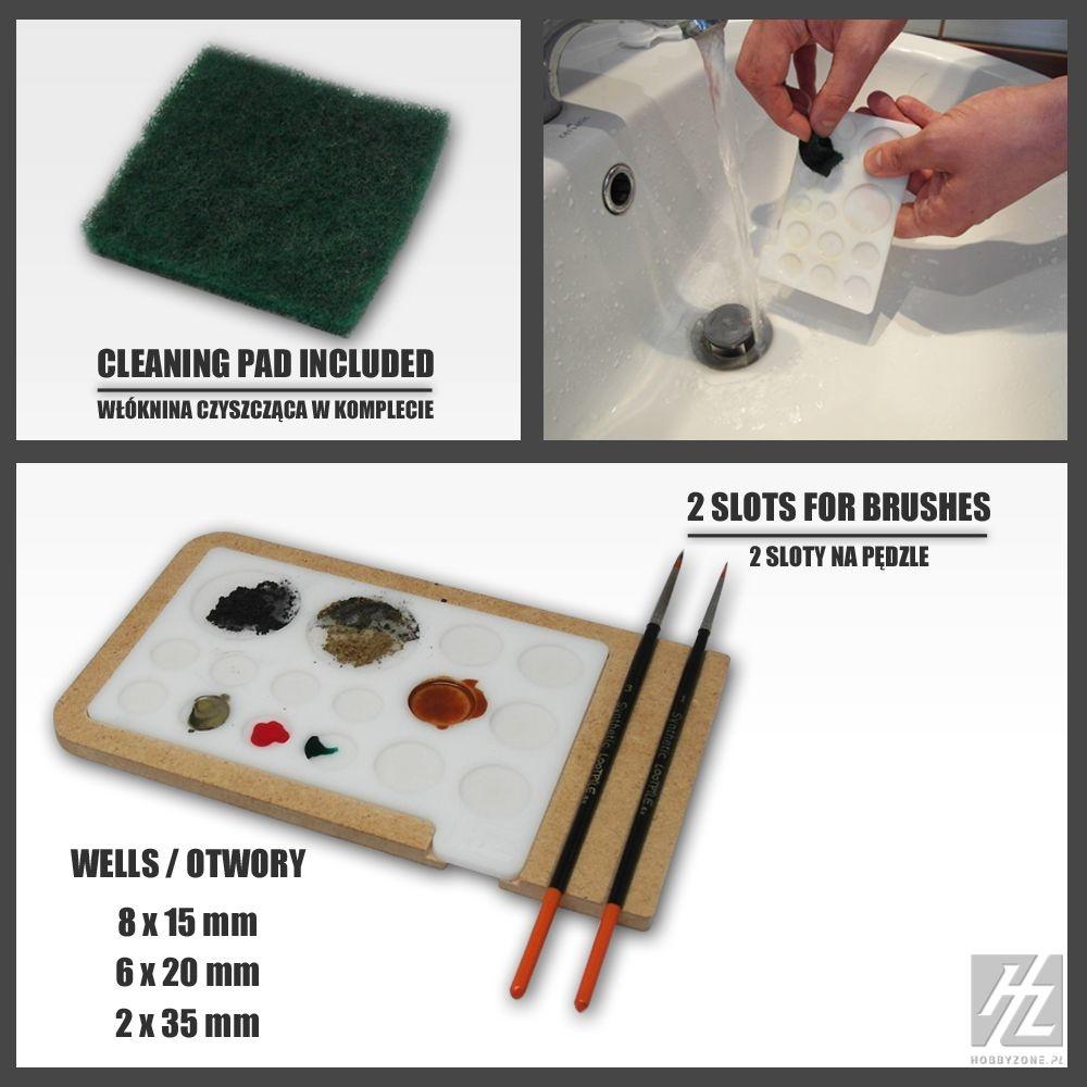 Hobbyzone Acrylic Painting Palette - Hobbyzone - HZ-pm1
