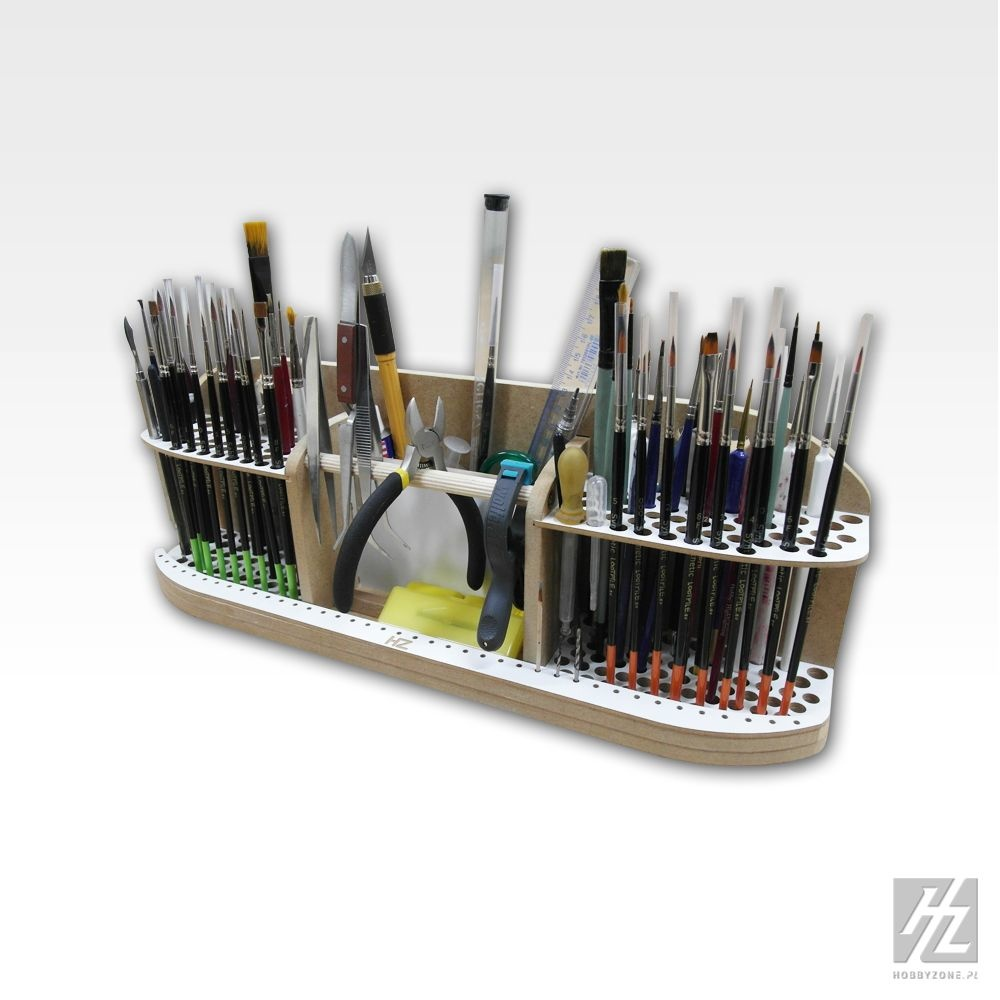Hobbyzone Large Brushes and Tools Holder - Hobbyzone - HZ-pn2