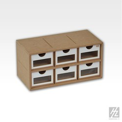 Drawers Module x 6 - Hobbyzone - HZ-OM01a