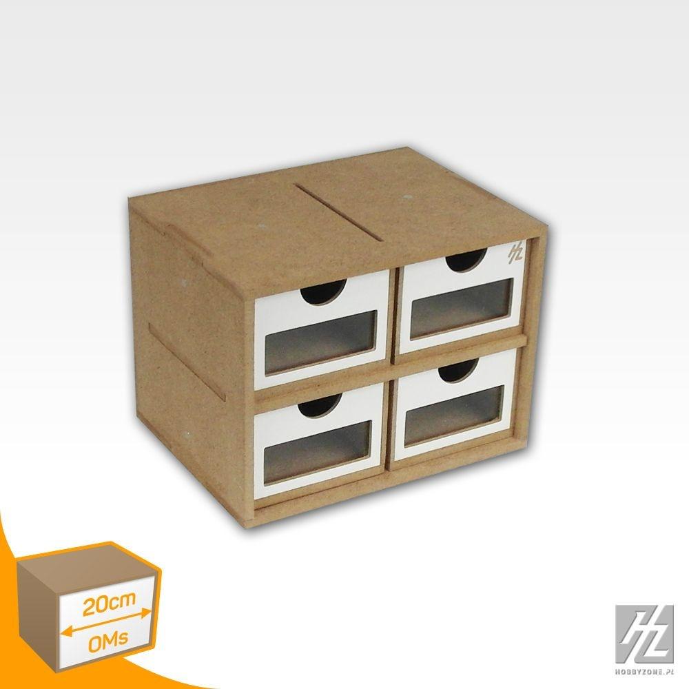 Hobbyzone Drawers Module x 4 - Hobbyzone - HZ-OMs01a