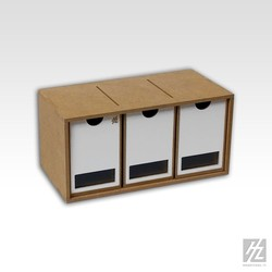 Drawers Module x 3 - Hobbyzone - HZ-OM01b