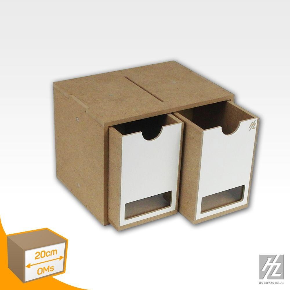 Hobbyzone Drawers Module x 2 - Hobbyzone - HZ-OMs01