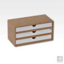 Drawers Module x 3 - Hobbyzone - HZ-OM02a