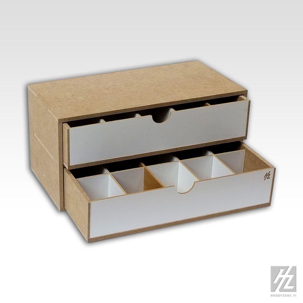 Hobbyzone Drawers Module x 2 - Hobbyzone - HZ-OM02b
