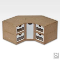 Corner Drawers Module - Hobbyzone - HZ-OM03